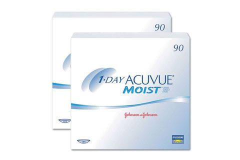 1 day acuvue moist 2x90 st ck kontaktlinsen von johnson. Black Bedroom Furniture Sets. Home Design Ideas