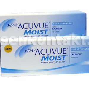 1-Day Acuvue Moist for Astigmatism, 2x30 Stück Kontaktlinsen von