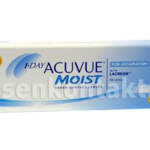 1-Day Acuvue Moist for Astigmatism, 30 Stück Kontaktlinsen von