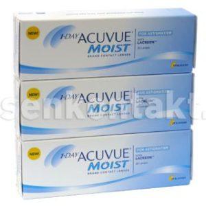 1-Day Acuvue Moist for Astigmatism 90 Stück Kontaktlinsen von