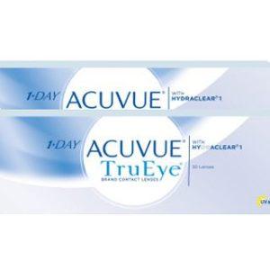 1-Day Acuvue TruEye, 2 x 30 Stück Kontaktlinsen von Johnson &