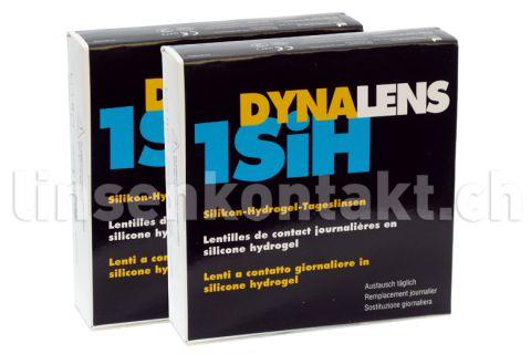 Dynalens 1 SiH Kontaktlinsen von Dynoptic, Sparpaket 3 Monate 2 x 90