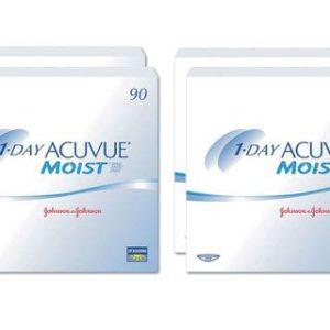 1-Day Acuvue Moist 2x180 Stück Kontaktlinsen von Johnson &