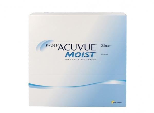 1-Day Acuvue Moist - 90 Tageslinsen