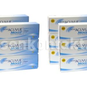 1-Day Acuvue Moist for Astigmatism 2x180 Stück Kontaktlinsen von