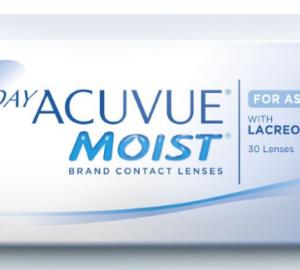 1-Day Acuvue Moist for Astigmatism - 30 Lenses