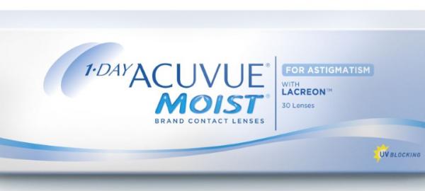 1-Day Acuvue Moist for Astigmatism - 90 Lenses