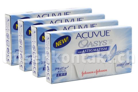 acuvue oasys for astigmatism 4 x 6 st ck kontaktlinsen. Black Bedroom Furniture Sets. Home Design Ideas