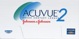 Acuvue2 - 6 Contact Lenses