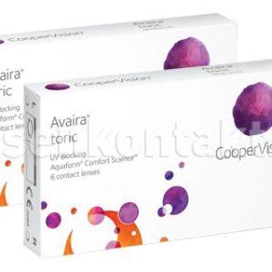 Avaira toric, 2 x 3 Stück Kontaktlinsen von Cooper Vision