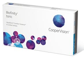 Biofinity Toric - 3 Monthly Lenses