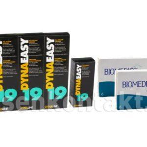 Biomedics Toric XR von Cooper Vision & Dynaeasy 19,