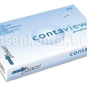 Contaview premium toric UV, 2 x 6 Stück Kontaktlinsen von Contopharma