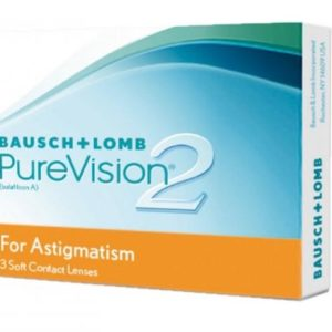 Pure Vision 2 HD for Astigmatism - 3 Monthly Lenses