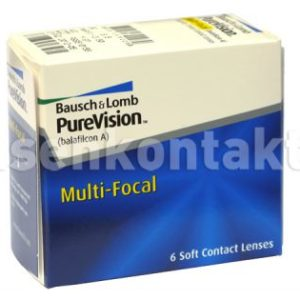 Pure Vision Multifocal, 6 Stück Kontaktlinsen von Bausch & Lomb