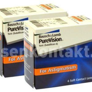 Pure Vision Toric, 2 x 6 Stück Kontaktlinsen von Bausch & Lomb