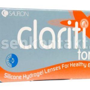 Sauflon clariti toric, 6 Stück torische Kontaktlinsen
