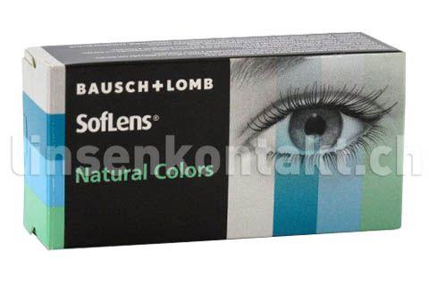 soflens natural colors 2 st ck kontaktlinsen von bausch lomb kontaktlinsen schweiz. Black Bedroom Furniture Sets. Home Design Ideas