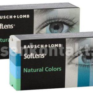 SofLens Natural Colors, 2 x 2 Stück Kontaktlinsen von Bausch &