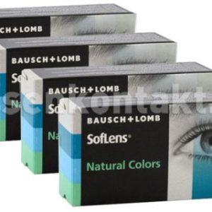 SofLens Natural Colors, 4 x 2 Stück Kontaktlinsen von Bausch &