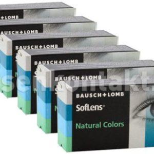 SofLens Natural Colors, 6 x 2 Stück Kontaktlinsen von Bausch &
