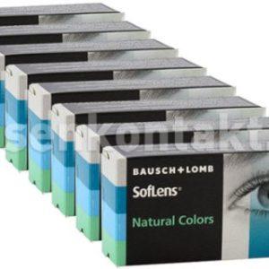 SofLens Natural Colors, 8 x 2 Stück Kontaktlinsen von Bausch &
