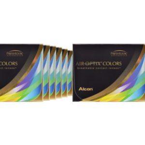 Air Optix Colors, 12 x 2 Stück neue farbige Kontaktlinsen von Ciba
