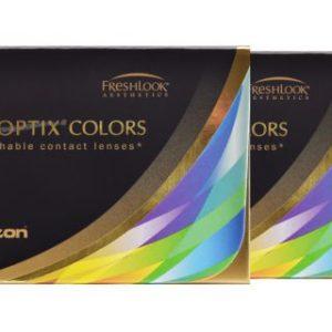 Air Optix Colors, 2 x 2 Stück neue farbige Kontaktlinsen von Ciba
