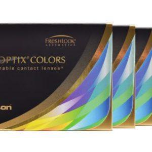 Air Optix Colors, 4 x 2 Stück neue farbige Kontaktlinsen von Ciba