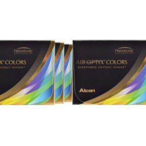Air Optix Colors, 6 x 2 Stück neue farbige Kontaktlinsen von Ciba