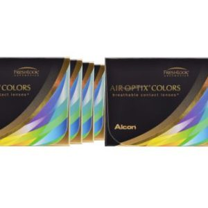 Air Optix Colors, 8 x 2 Stück neue farbige Kontaktlinsen von Ciba