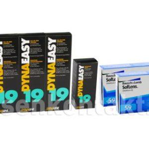 SofLens 59 Kontaktlinsen von Bausch&Lomb & Dynaeasy 19,