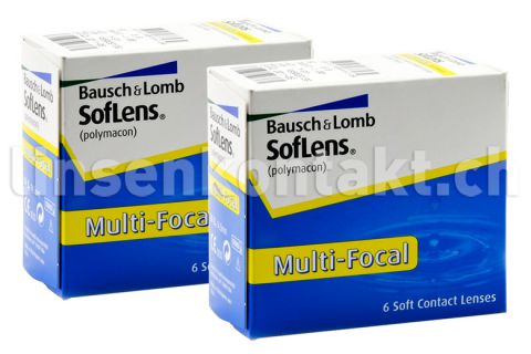soflens multifokal 2 x 6 st ck kontaktlinsen von bausch. Black Bedroom Furniture Sets. Home Design Ideas
