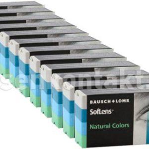 SofLens Natural Colors, 12 x 2 Stück Kontaktlinsen von Bausch &