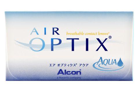 mehr Fotos hohe Qualitätsgarantie Rabatt-Verkauf Air Optix Aqua, 6 Stück Kontaktlinsen von Ciba Vision