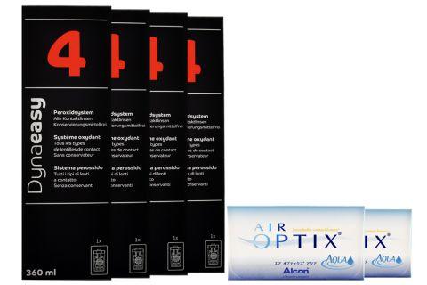 Air Optix Aqua Kontaktlinsen von Ciba Vision & Dynaeasy 4,