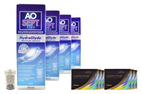 Air Optix Colors farbige Kontaktlinsen von Ciba Vision & AoSEPT