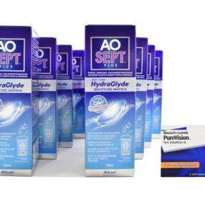 Jahres-Sparpaket, Pure Vision Toric Kontaktlinsen von Bausch &