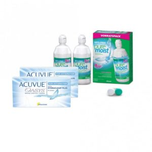 Bundle rebate: Acuvue Oasys for Astigmatism - 6 and OptiFree PureMoist ALCON