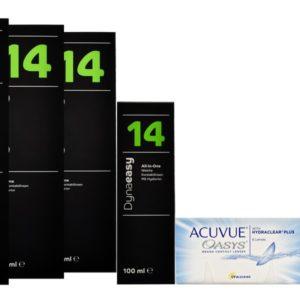 Acuvue Oasys Kontaktlinsen von Johnson & Johnson + Dynaeasy 14 -