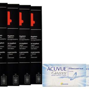Acuvue Oasys Kontaktlinsen von Johnson & Johnson + Dynaeasy 4 -