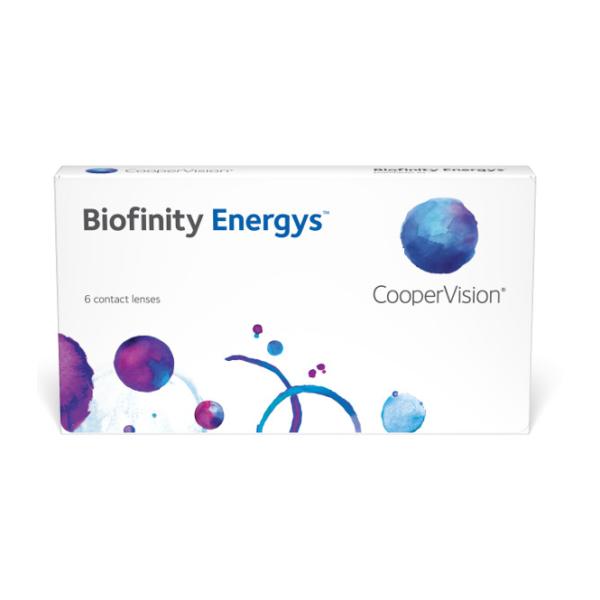 Biofinity Energys - 6 Lenti mensili