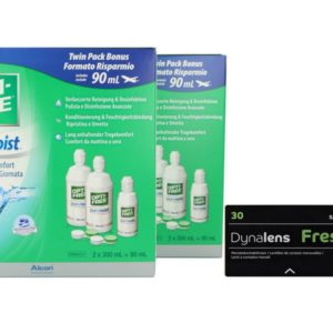 Dynalens 30 Fresh Kontaktlinsen von Dynoptic & Opti Free Pure