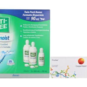 Proclear Kontaktlinsen von Cooper Vision & Opti Free Pure Moist,