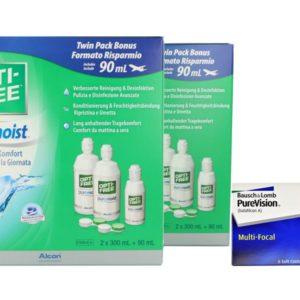 Proclear Multifocal Kontaktlinsen von Cooper Vision & Opti Free