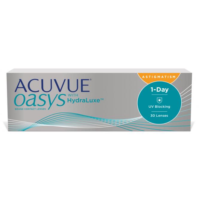 comprare online qui scarpe originali 1-Day Acuvue Oasys for Astigmatism - 30 Lenti giornaliere