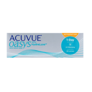 Acuvue Oasys 1-Day with HydraLuxe for Astigmatism 30er