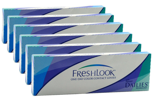 Dailies FreshLook Colors One-Day 2x30 farbige Tageslinsen